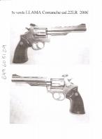 Revolver LLama comanche .22LR